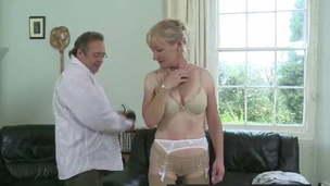 spanking stockings